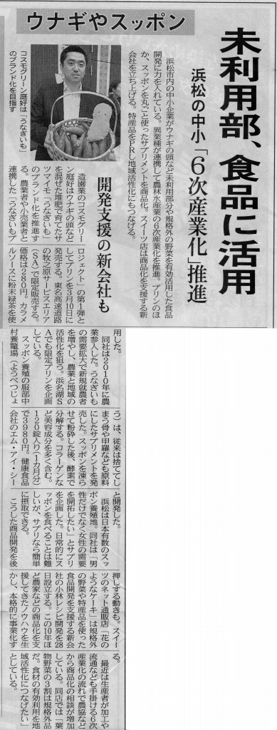 「日本経済新聞(2012年2月17日)35面」